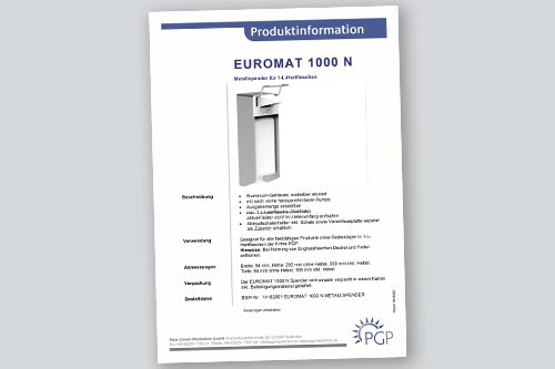 EUROMAT 1000 N • Physioderm