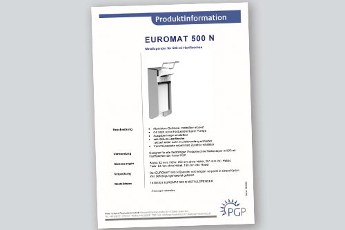 EUROMAT 500 N • Physioderm