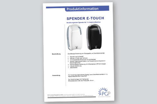 NEPTUNE E-Touch • Physioderm