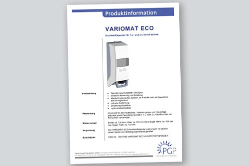 VARIOMAT ECO • Physioderm